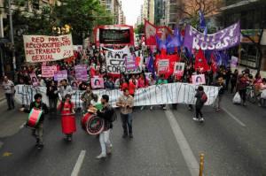 Marcha por Yamila Cuello