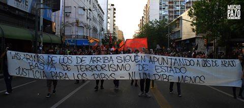 represion barranca yaco