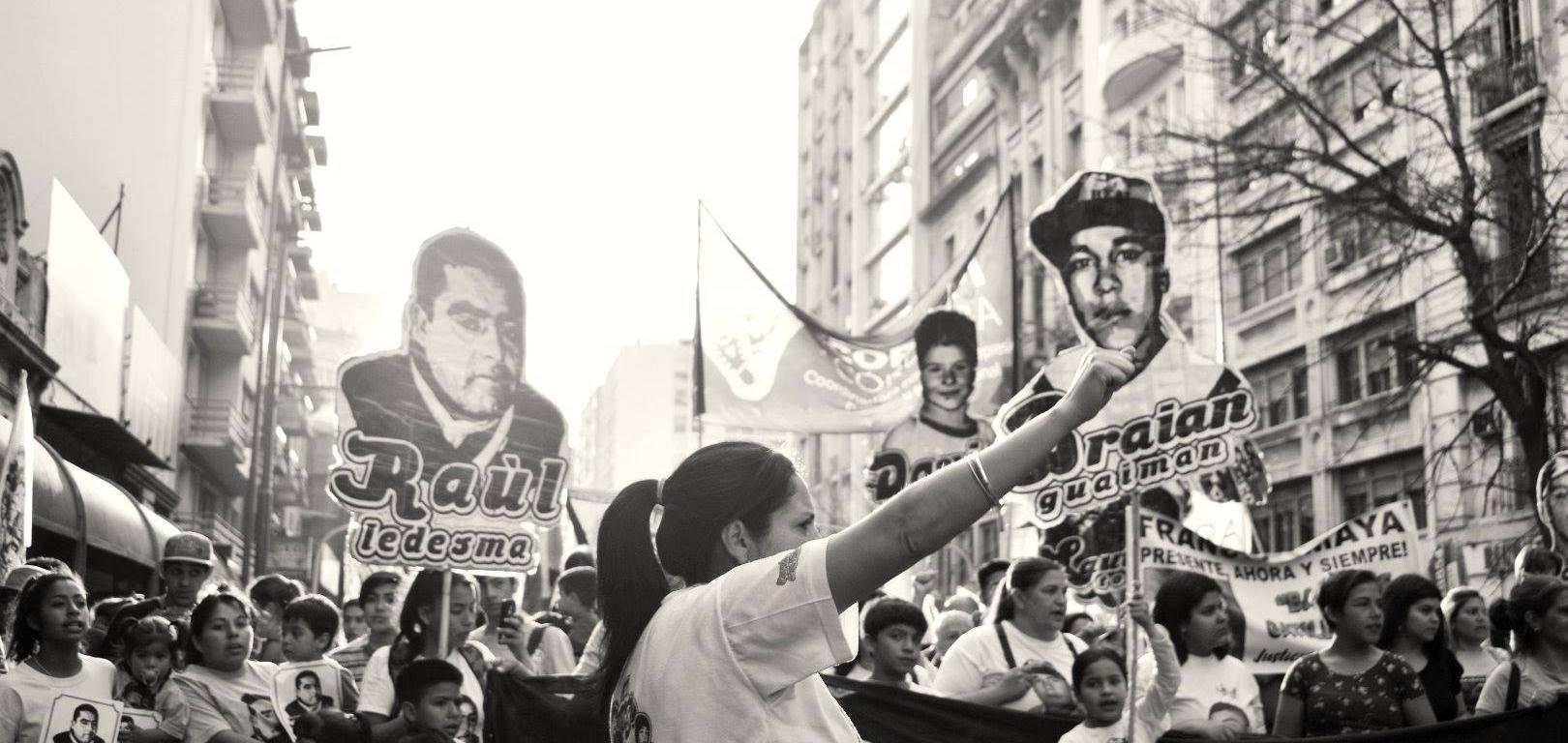 Imágen de la Cobertura Colaborativa de la Marcha Contra el Gatillo Fácil